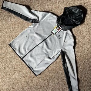 Other - Under Armour youth zip sweatshirt L